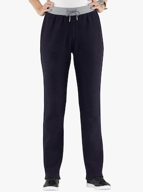 Fleecové kalhoty - černá