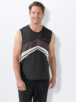 Catamaran Funktions-Shirt - schwarz