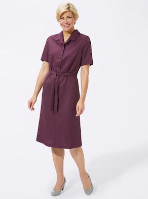 Kleid - bordeaux