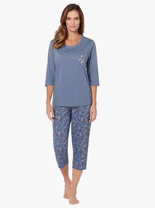 wäschepur Pyjama's - lindegroen + bleu