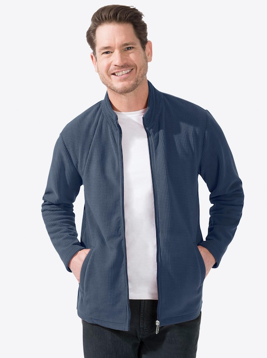 Catamaran Sports Fleece-Jacke - jeansblau