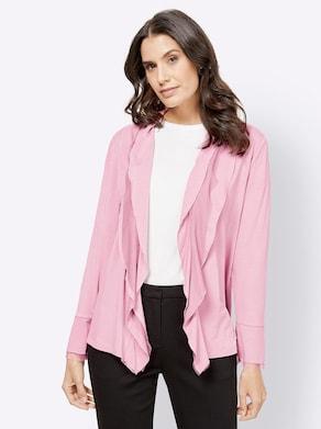 Shirtjacke - rosé