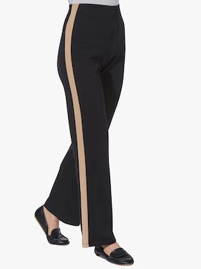 Jersey pantalon - zwart