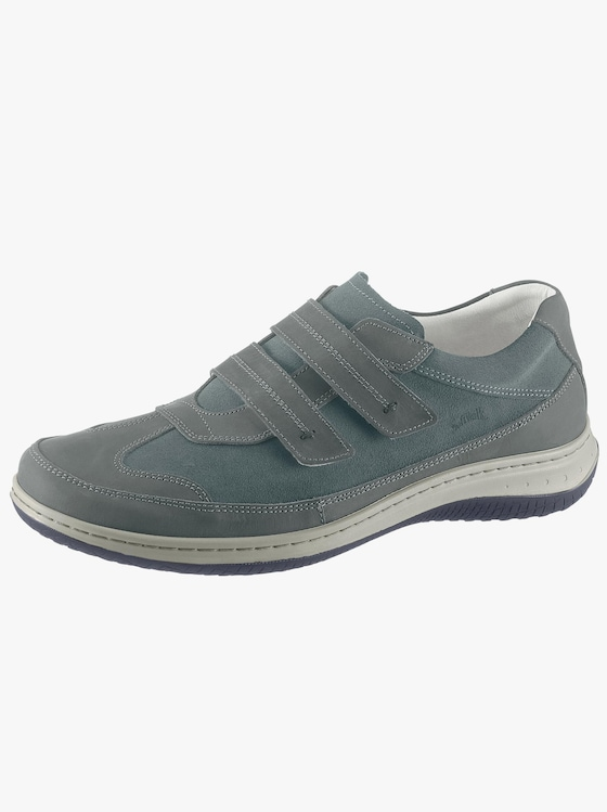 Softwalk Handmade Klettschuh - blau