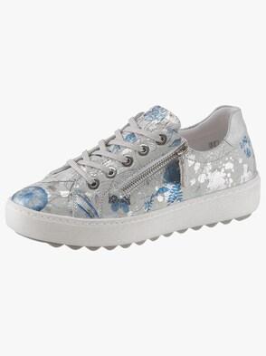 Sneaker - hellgrau-bla