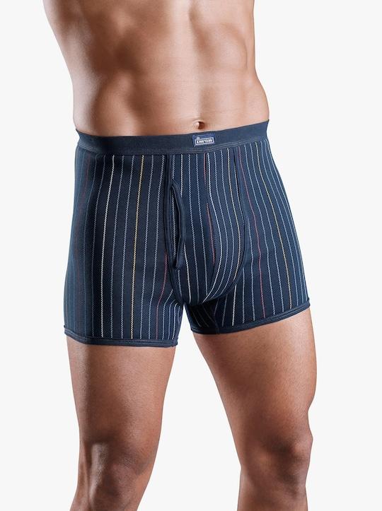 KINGsCLUB Krátké kalhoty - námořnická modrá-potisk