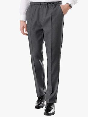 Nohavice - antracitová melírovaná
