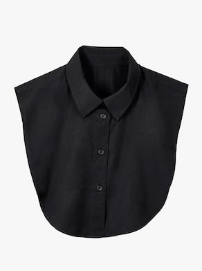 Blúzkový golier - čierna