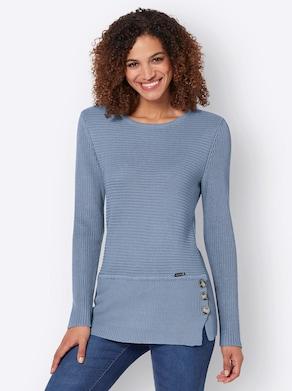 Pullover - bleu