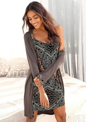 LASCANA Kimono - braun