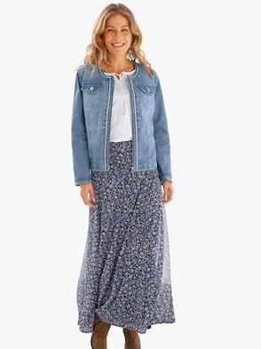 Jeans-Jacke - blue-bleached