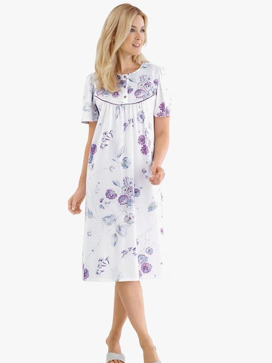 Arabella Nachthemd - ecru-bedruckt