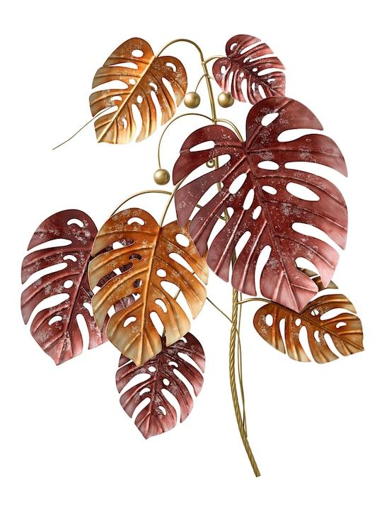 heine home Wanddeko Blätter - orange-bordeaux