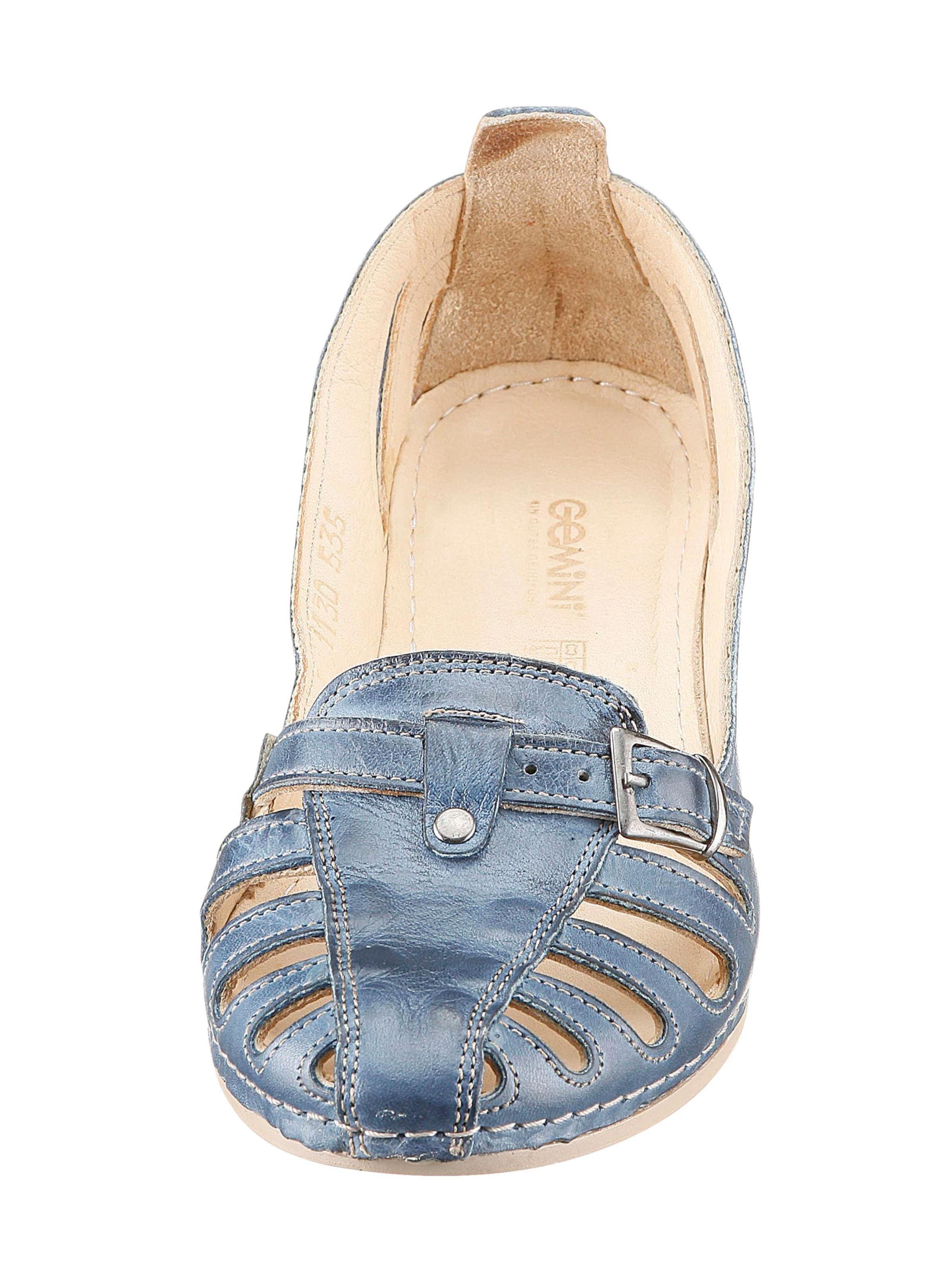 gemini - Damen Slipper jeansblau