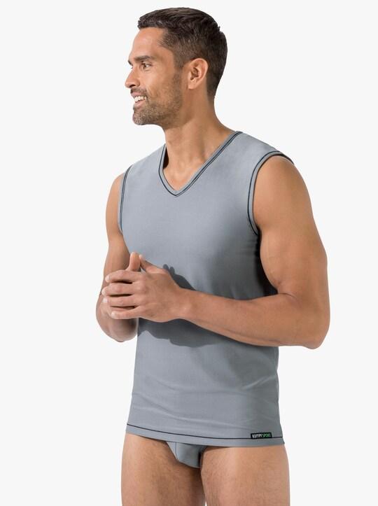 Kumpf Unterhemd - grau