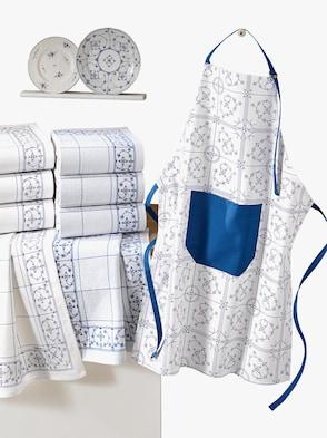 Küchenprogramm - weiß-blau