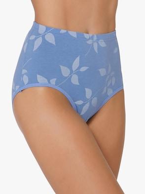 Tailleslip - bleu + bleu geprint