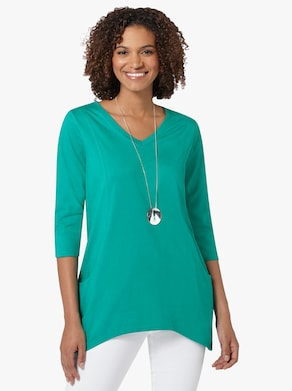 Tričko - smaragdově zelená