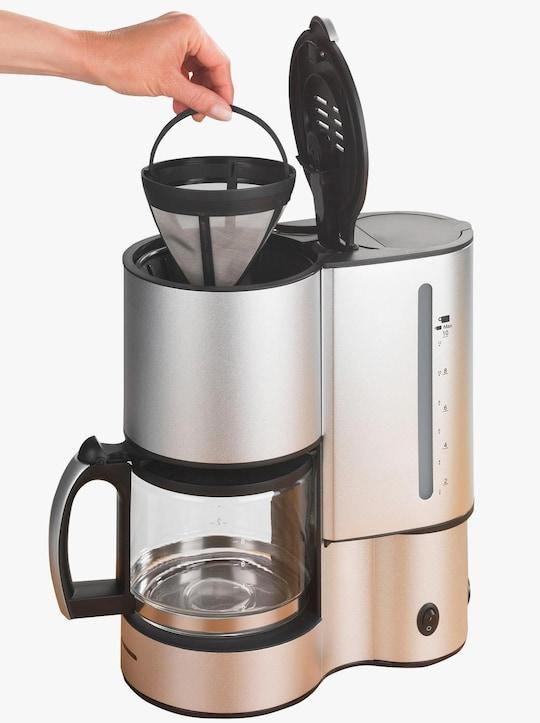 Dauer-Kaffeefilter - Silber