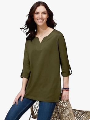 Shirt - olijf