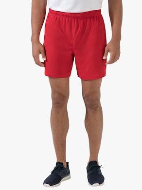 Fruit of the Loom Pánské sportovní kalhoty - červená