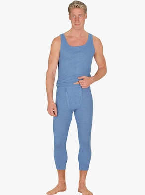 KINGsCLUB Onderhemd - lichtblauw gemêleerd
