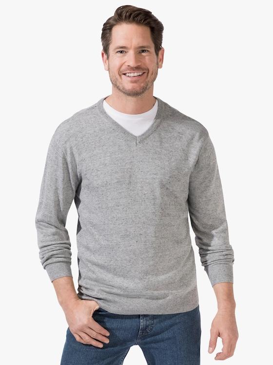 Catamaran Pullover - grau-meliert