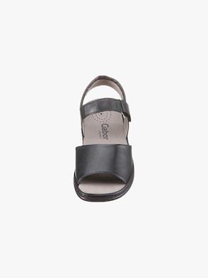 Gabor Sandale - schwarz