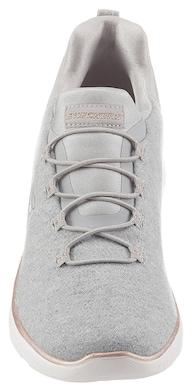 Skechers Slip-On Sneaker - grau-meliert