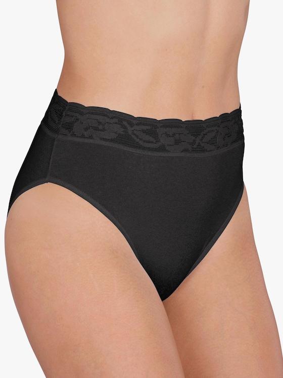wäschepur Slip - schwarz