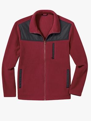 Športová bunda - Čierna – červená