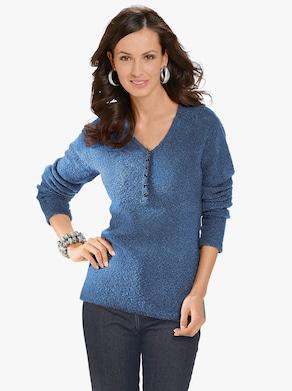 Pullover - blauw