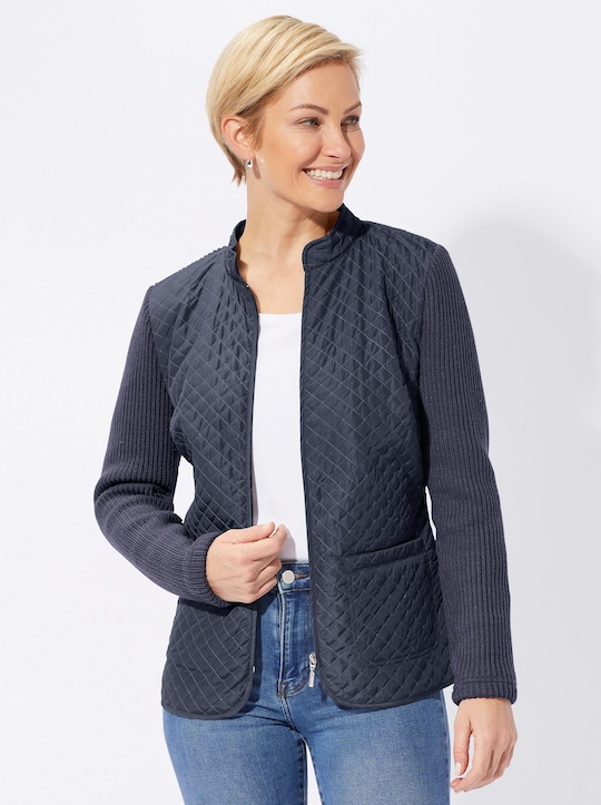 Collection L Strickjacke - marine