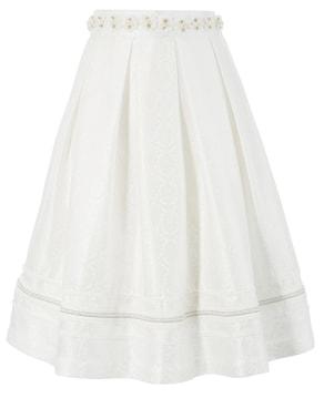 MarJo Trachtenrock - weiß