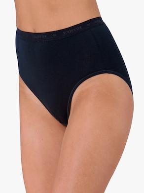 Schiesser Taillenslip - schwarz