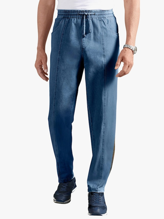 Schlupfjeans - blue-stone-washed