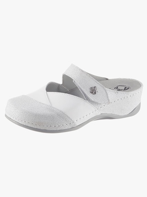 Pantolette - weiß