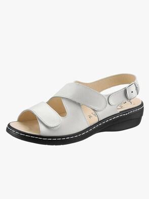 Sandale - wollweiß