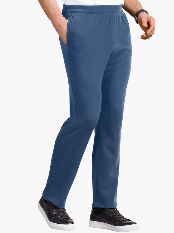 Fleece-Hose - blau
