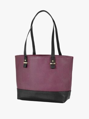 Handtasche - aubergine