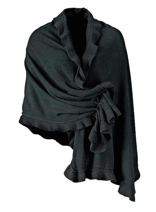 PURSET Sjaal - zwart