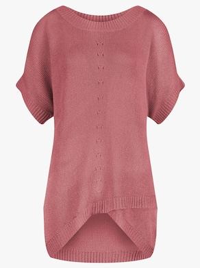 Sommer-Pullover - flamingo