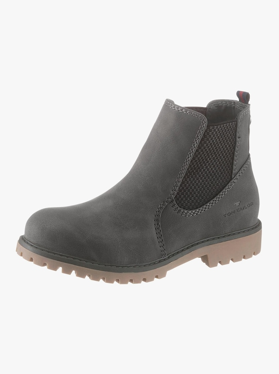 Tom Tailor Stiefelette - grau