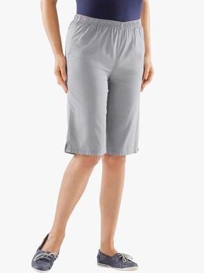 Bermuda-Jeans - grau