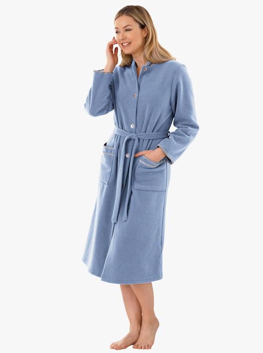 wäschepur Morgenmantel - blau