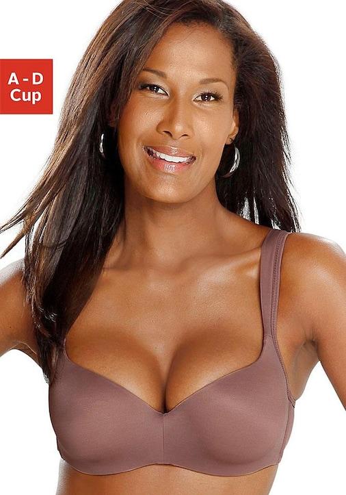 Nuance Beha met cups - taupe