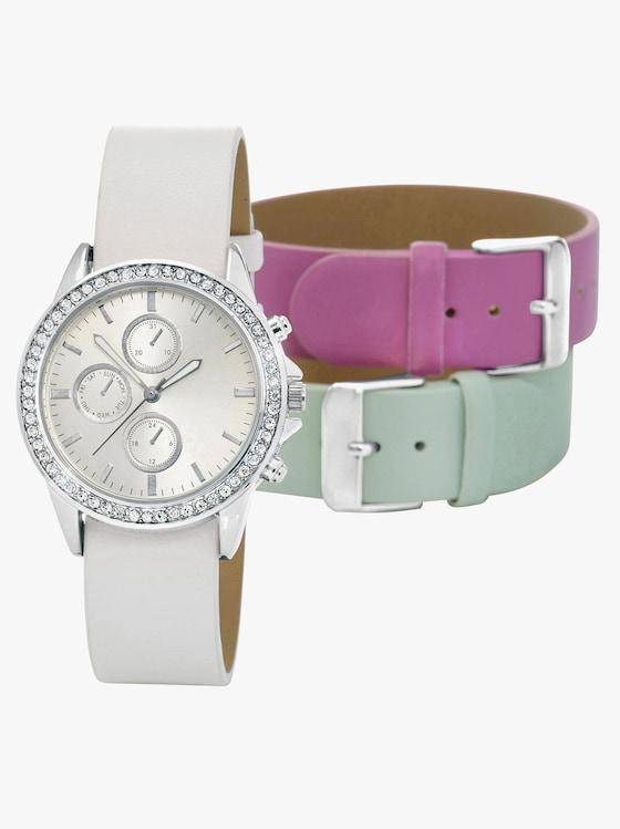 Náramkové hodinky - bílá