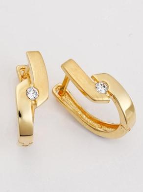 Creole - Silber vergoldet 925