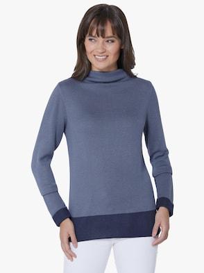 Pullover - rauchblau