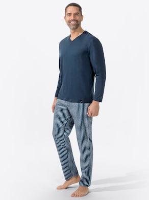 wäschepur Schlafanzug - dunkelblau